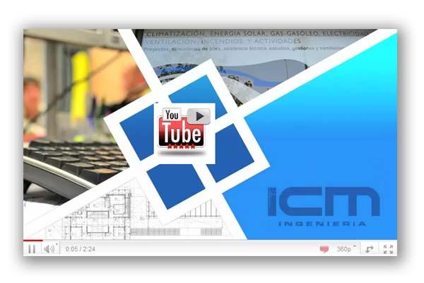 Vídeo Consultora Ingeniería de Instalaciones, Oficina Técnica y Asesores ahorro energético