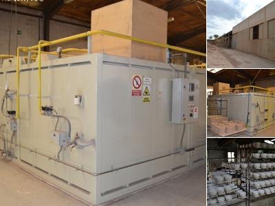 Ver Gas natural Alfarería Fajardo en Navarrete, La Rioja