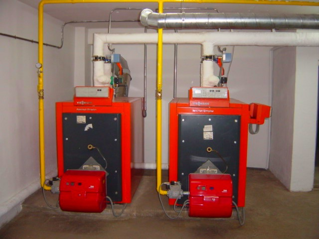 reforma sala de calderas central gas leo a gas natural en