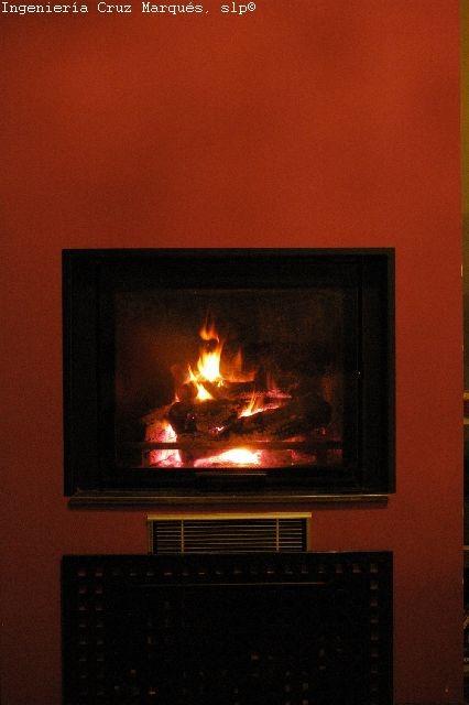 Maridaje biomasa gas natural regulaci n knx una - Chimenea gas natural ...