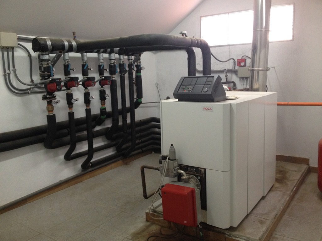 Instalaci n calefacci n gas natural ampliaci n edificio - Calderas calefaccion gas ...